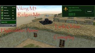 Tanki Online Railgun M4 Viking m3 Iran TDM gameplay.