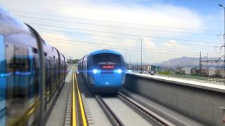 Tehran Light Rail Transite 3d Animation