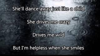 Helpless When She Smiles - Backstreet Boys (Lyrics