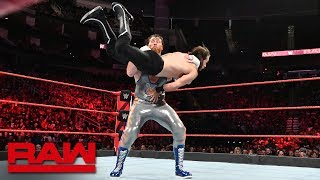 Curt Hawkins vs. James Harden: Raw, June 4, 2018