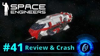 Lumen MK.1 Review and Crash! Space Engineers Part 41