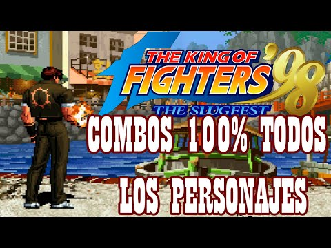 Xxx Mp4 KOF98 All Characters Death Combos 2017 100 Damage HD 3gp Sex