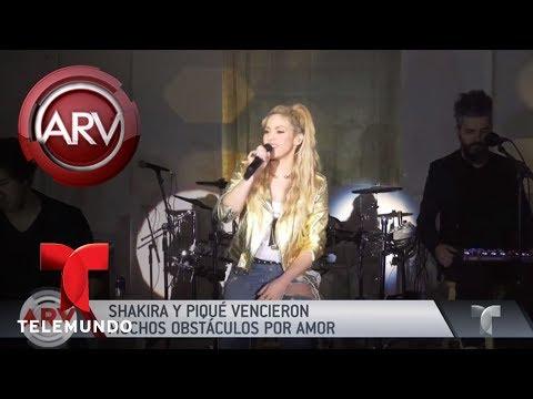 Xxx Mp4 Shakira Y Piqué Vencieron Obstáculos Defendiendo Su Amor Al Rojo Vivo Telemundo 3gp Sex