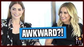 Ashley Tisdale Talks AWKWARD Sex Scenes in AMATEUR NIGHT Cast Interviews
