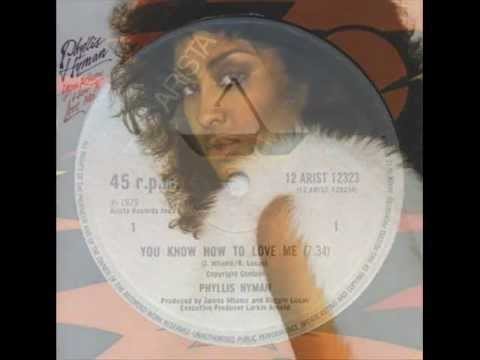 PHYLLIS HYMAN. You know how to love me . 1979. 12 extended version.