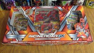 Incineroar GX Premium Collection Box Opening