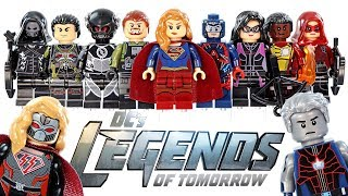 DC's Legends of Tomorrow CW's Arrowverse Supergirl Flash Unofficial LEGO Minifigures