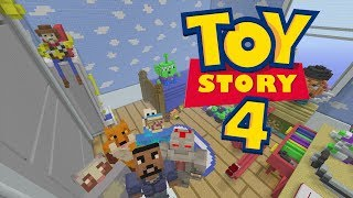 Minecraft XBOX - Hide and Seek - Toy Story 4