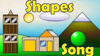 The Shapes Song - Kids English Pop Music