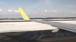 AirDO千歳空港離陸