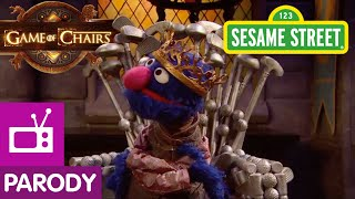 Sesame Street: Game of Chairs (Game of Thrones Parody)