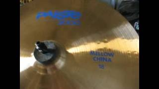 paiste 2000 mellow china 18