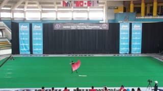 Jomc 2015 Colorguard Solo (Male) 3rd place - Yuen Lok Hin (The Pegasus Vanguard Hong Kong)