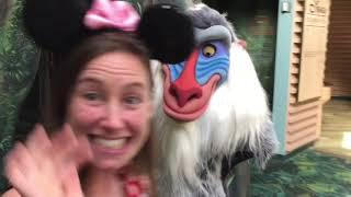 Animal Kingdom Character Meet and Greets Disney World 2017 Big Kids at Disney