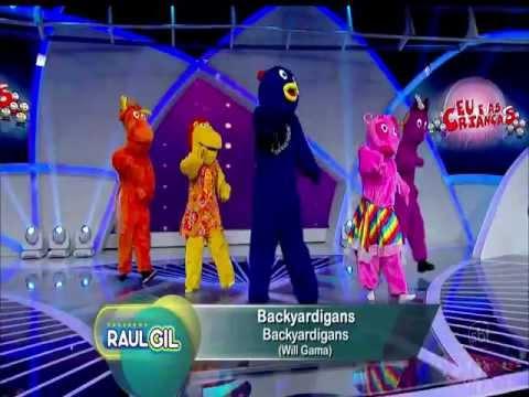 Dançando com os Backyardigans Raul Gil 02 03 2013 Cover