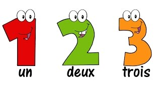 ♫ FRENCH Numbers Song 1-20 ♫ Compter jusqu