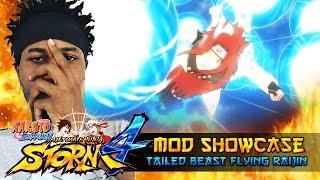 Flying Raijin Tailed Beast Bomb Naruto!!! Naruto Shippuden Ultimate Ninja Storm 4 Mods