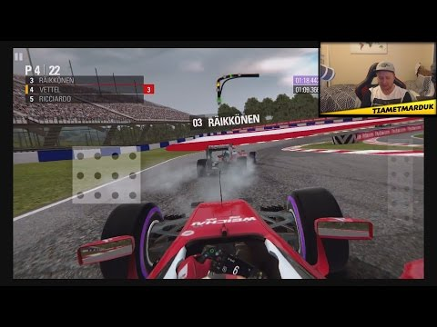 F1 2016 Mobile Game First Impressions