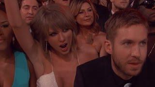 Taylor Swift & Calvin Harris Cozy Up at the Billboard Music Awards