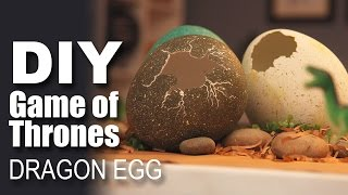 How to make a DIY Dragon Egg | Game Of Thrones Special