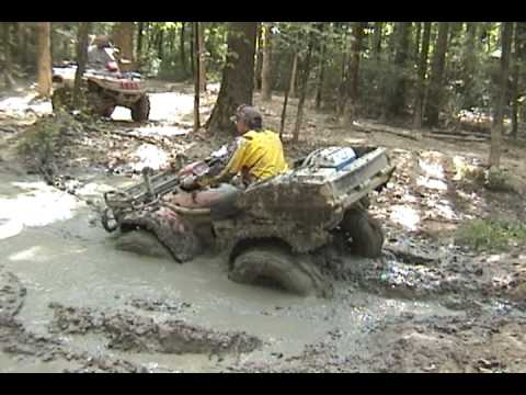 Honda Foreman s with 30 Mudzillas Mud Gears & Mudlites Mud Riding
