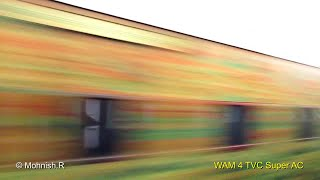 Bangalore - Chennai Brindavan Express - HIGH Speed Crossings and Station Skips.