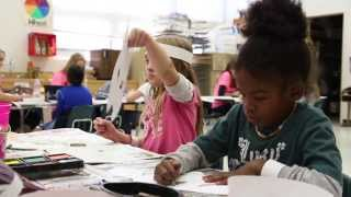 Art Education Students Create Projects for Elementary School