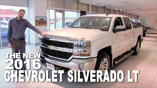 The New 2016 Chevrolet Silverado LT - St Cloud, Cold Spring, Monticello, Rogers, Minneapolis, MN