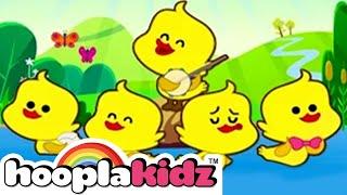 Five Little Ducks Nursery Rhyme by HooplaKidz | Sesame Street Nursery Rhyme Week