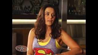 Preity Zinta on Showbiz India