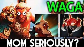 Wagamama Dota 2 [Troll Warlord] MOM Are you Seriously?