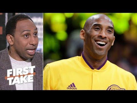 Kobe wasn t joking when he called himself the GOAT Stephen A. First Take
