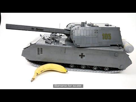 Lego Technic RC Maus Super heavy Tank