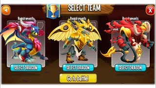 Dragon City - Random Fight | Part 106 [Full Combat & Skills 2017]