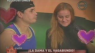 La Noche Es Mía: Andy V y Lourdes Sacín son 'La Dama y el Vagabundo'