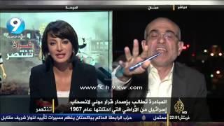 شجار عنيف  وتبادل اتهامات بين ياسر الزعاترة واحمد العساف بعد وصف ياسر لمحمود عباس بالفاشل