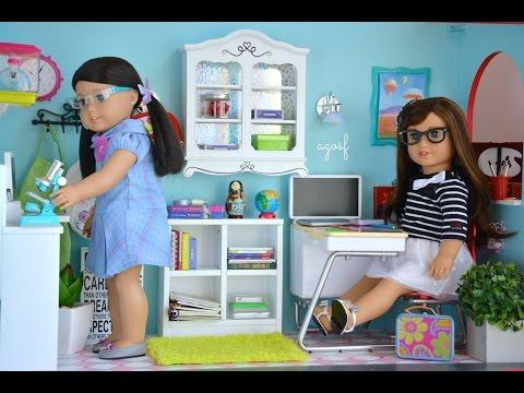 American Girl Dollhouse School Room