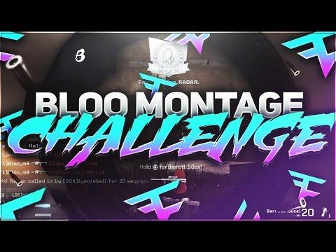 BLOO MONTAGE CHALLENGE