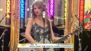 Taylor Swift - Mine Live on the Today Show