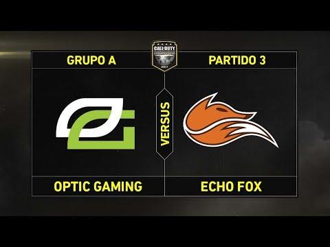 Grupo A: OPTIC GAMING vs ECHO FOX #CoDChampsLVP2
