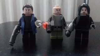 Lego captain cold , heat wave et la soeur de captain cold