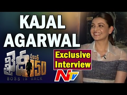 Kajal Agarwal Exclusive Interview about Khaidi No 150 Movie || NTV