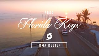 PBSO Helps out in the Keys After Hurricane IRMA