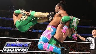 Lucha Dragons vs. Kofi Kingston & Xavier Woods of The New Day: SmackDown, Dec. 17, 2015