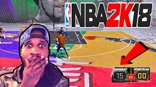 NBA 2K18 - THE BIGGEST COMEBACK EVER!
