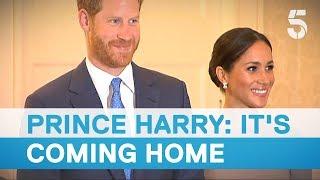 Meghan Markle and Prince Harry meet Ireland President Michael D Higgins | 5 News