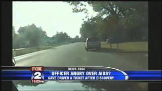 Traffic Cop Gives Woman Ticket For Not Telling Him She's HIV Positive
