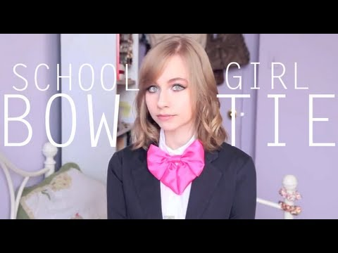 Xxx Mp4 Schoolgirl Bow Tie Tutorial 3gp Sex