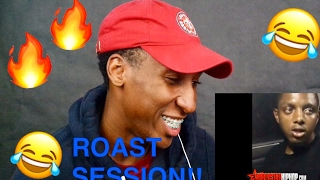 FIRST REACTION VIDEO!! ALMIGHTY GIO & MIKE DA FOOL EXTREME ROAST SESSION