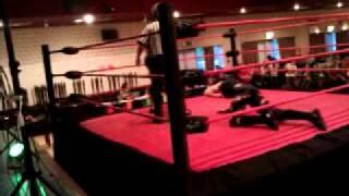 Joey star vs mark Clarke - national wrestling live